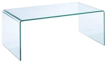 Lumeno Glass Coffee Table   Contemporary   Coffee Tables   San Diego   Real  Deal Furniture