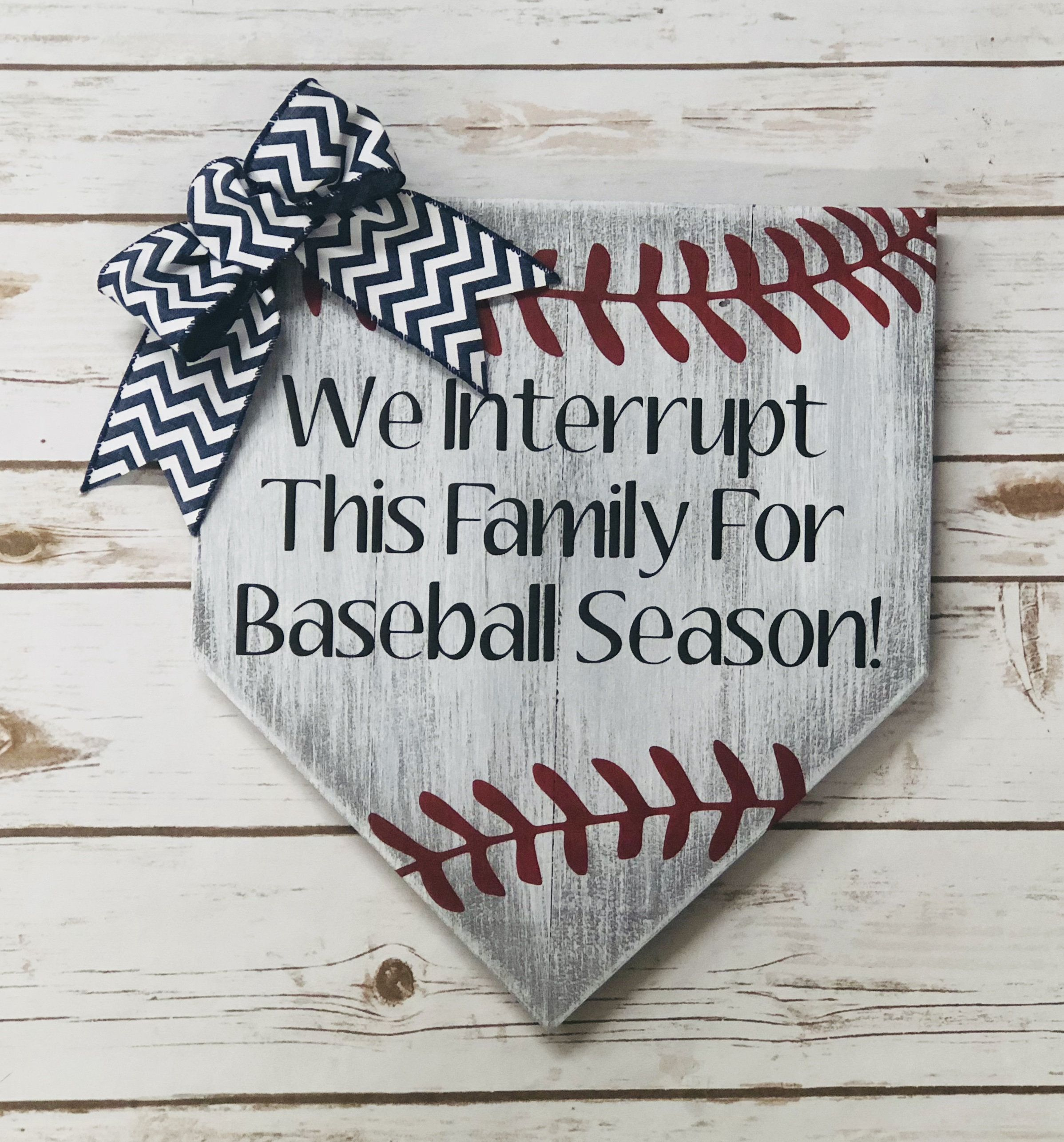 We interrupt this family for baseball season by