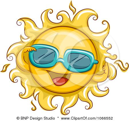Sun Face Sunglasses Chat Vector Clipart Free Clip Art Images Sun Clip Art Clip Art Art Images