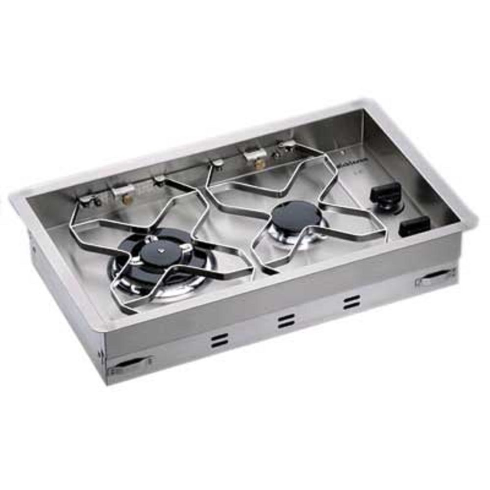 Dickinson 2 Burner Drop In Propane Stove Heavy Duty Stainless Steel Boat Rv Dickinson Propane Stove Stove Micro Kitchen