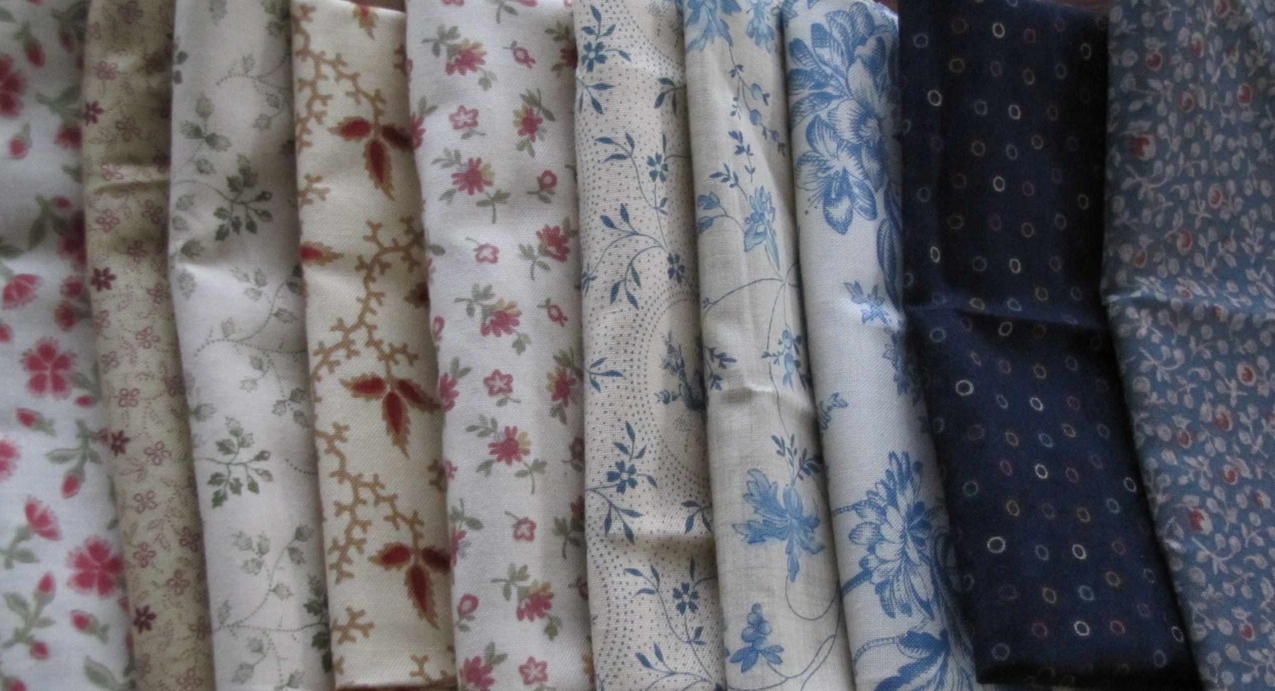 and more fabrics