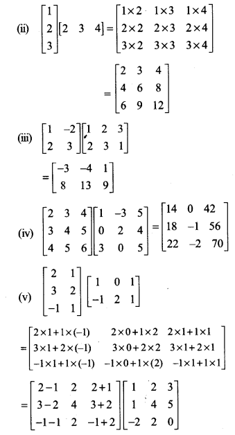 Ncert Solutions For Class 12 Maths Chapter 3 Matrices 3 Https Www Cbsetuts Com Ncert Solutions For Class Matrices Math Mathematics Worksheets Class 12 Maths