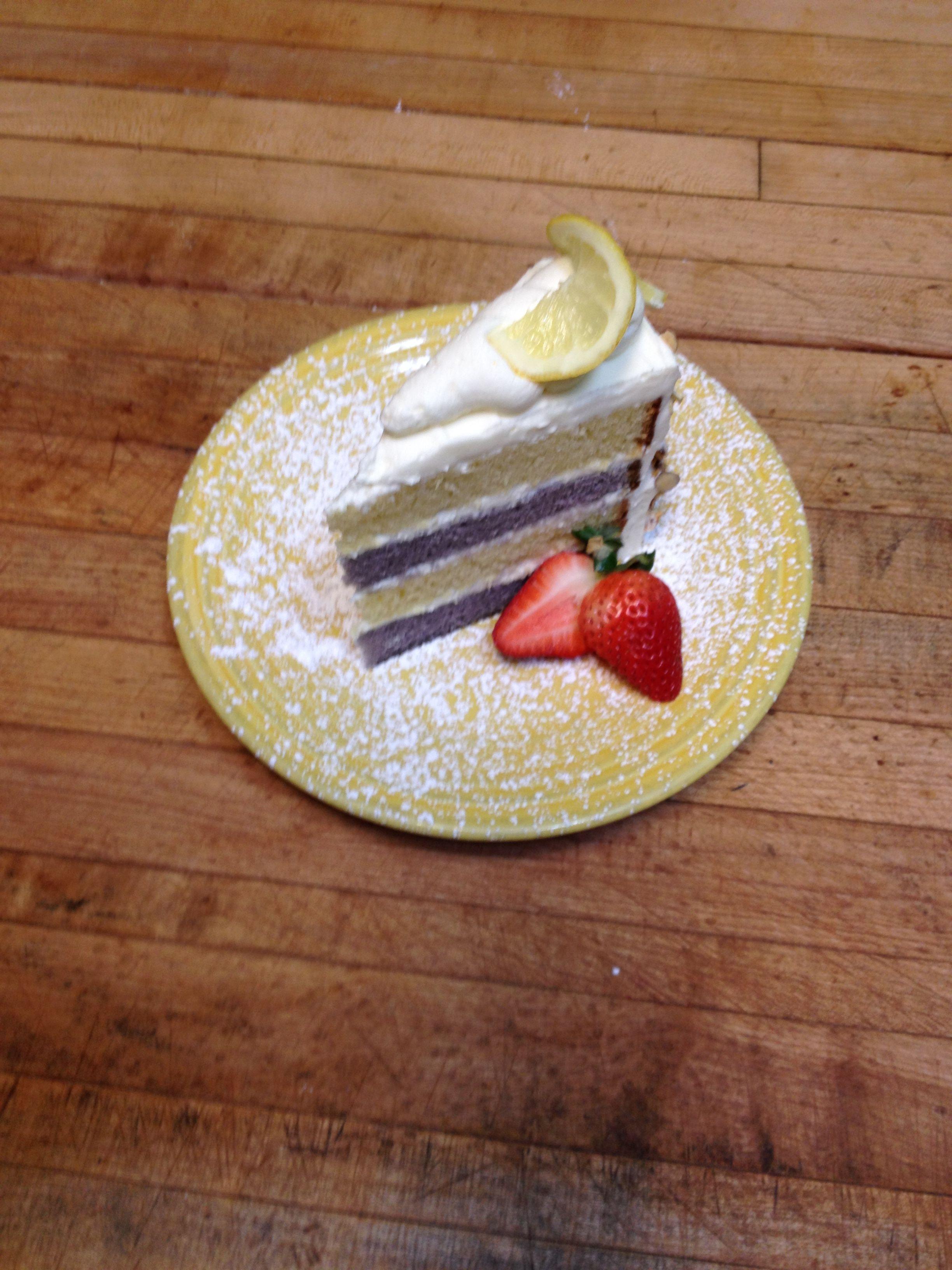 LavenderLemon Cake by David Perry Lemon cake, Lemon