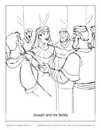 Egypt Famine Joseph Coloring Joseph Interpreting Pharaoh S