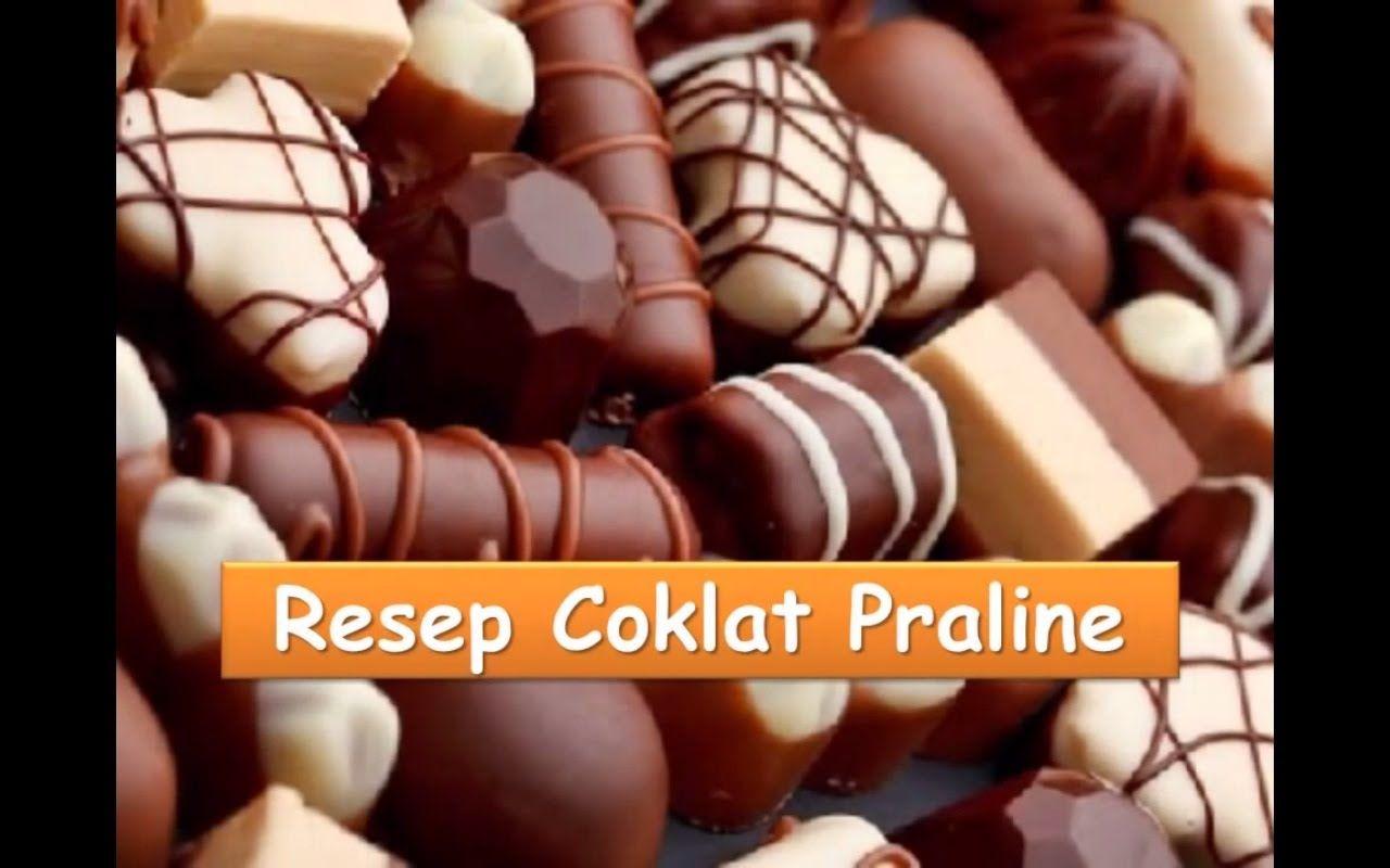 Resep Dan Cara Membuat Coklat Praline Atau Valantine Nyokmasak Http Youtu Be 4grla65ho1w Resep Kue Coklat Coklat Resep Kue