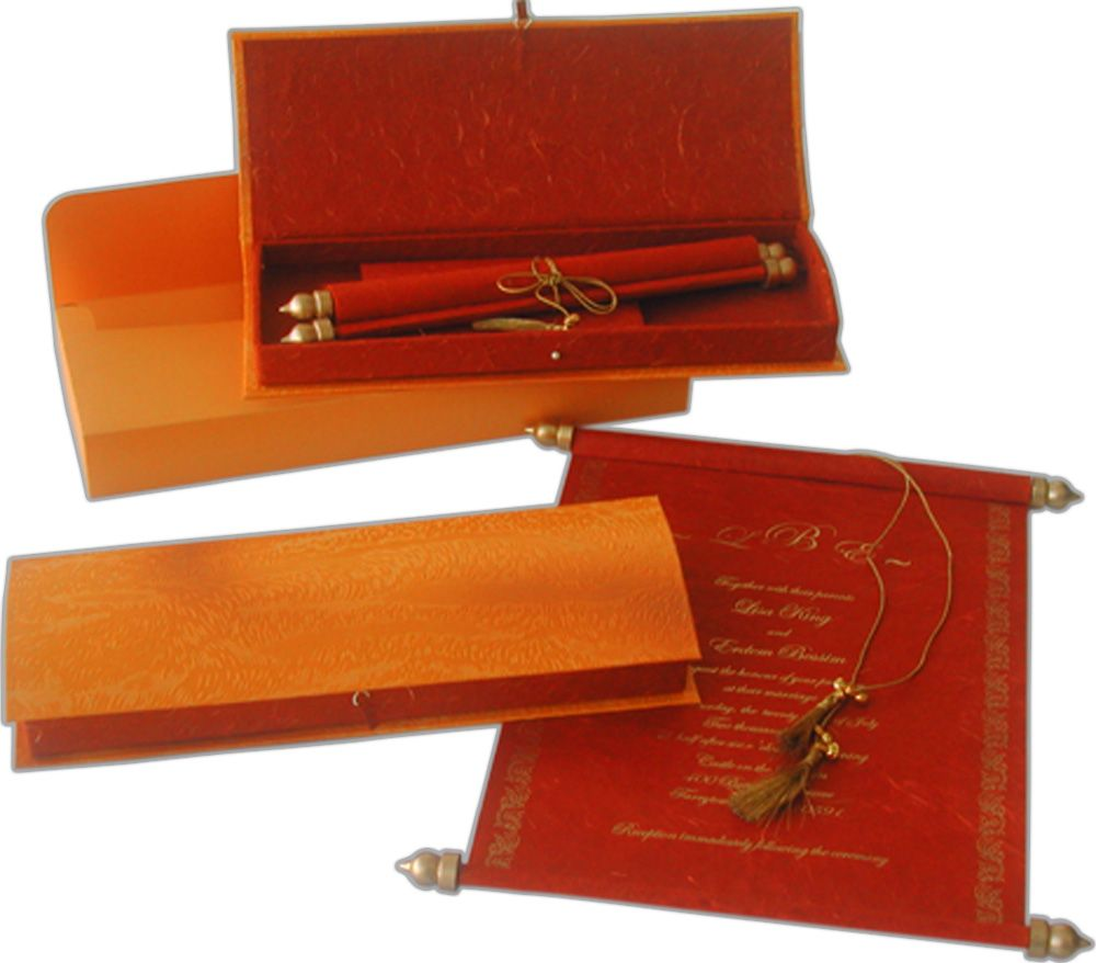 Popularity and Practicality of Wooden Scroll Invitations