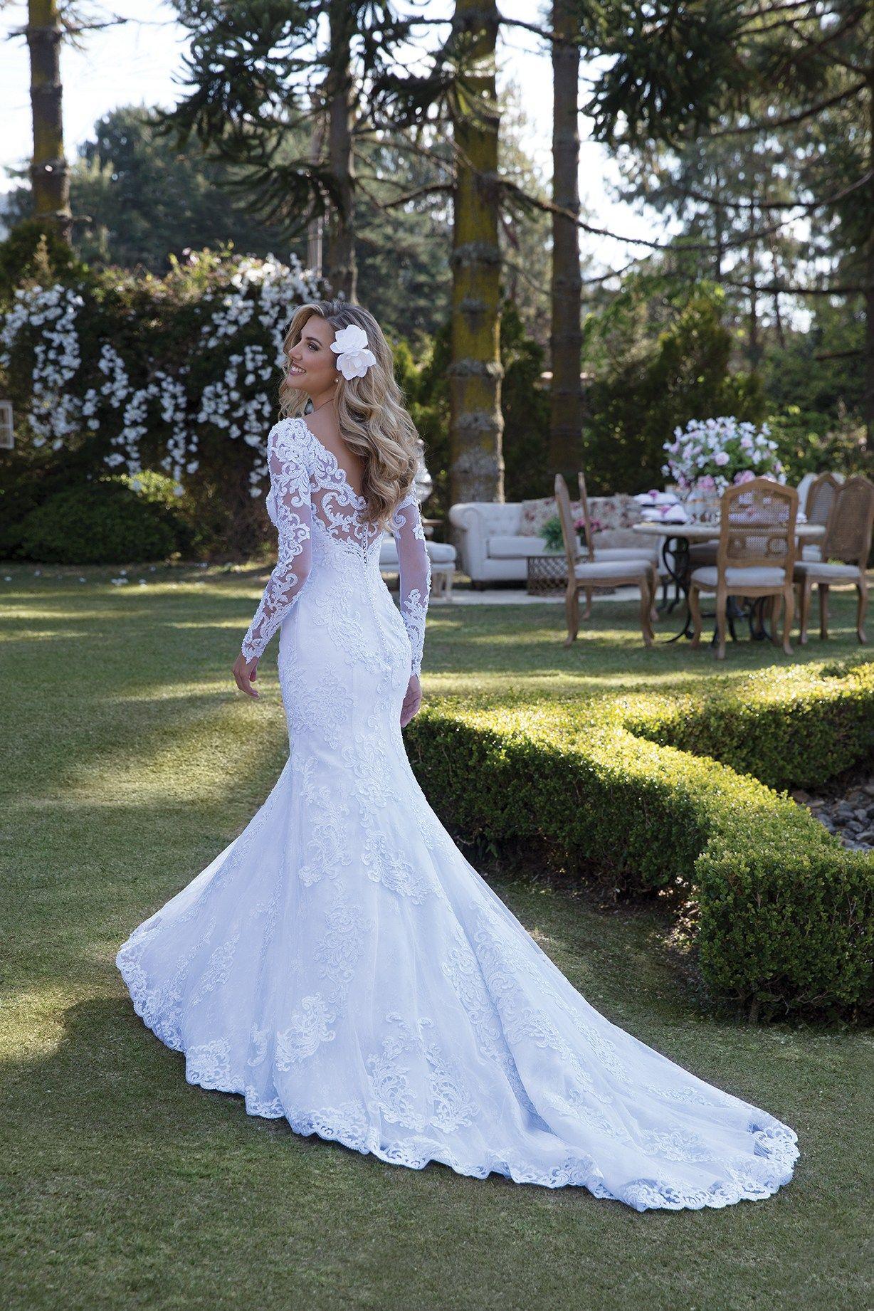 Inspirações para vestidos de noiva modelo hortênsia tvestidos de