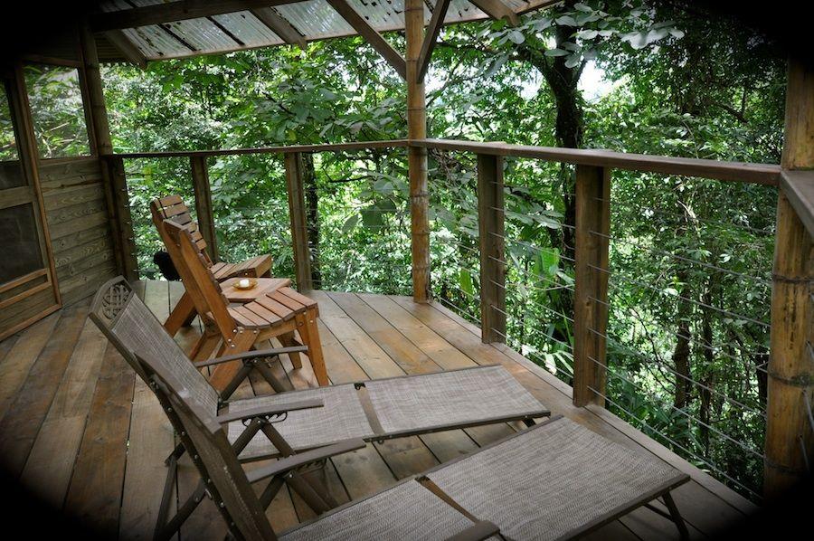 El Castillo -tree house in Finca Bella Vista in Puerto Rico