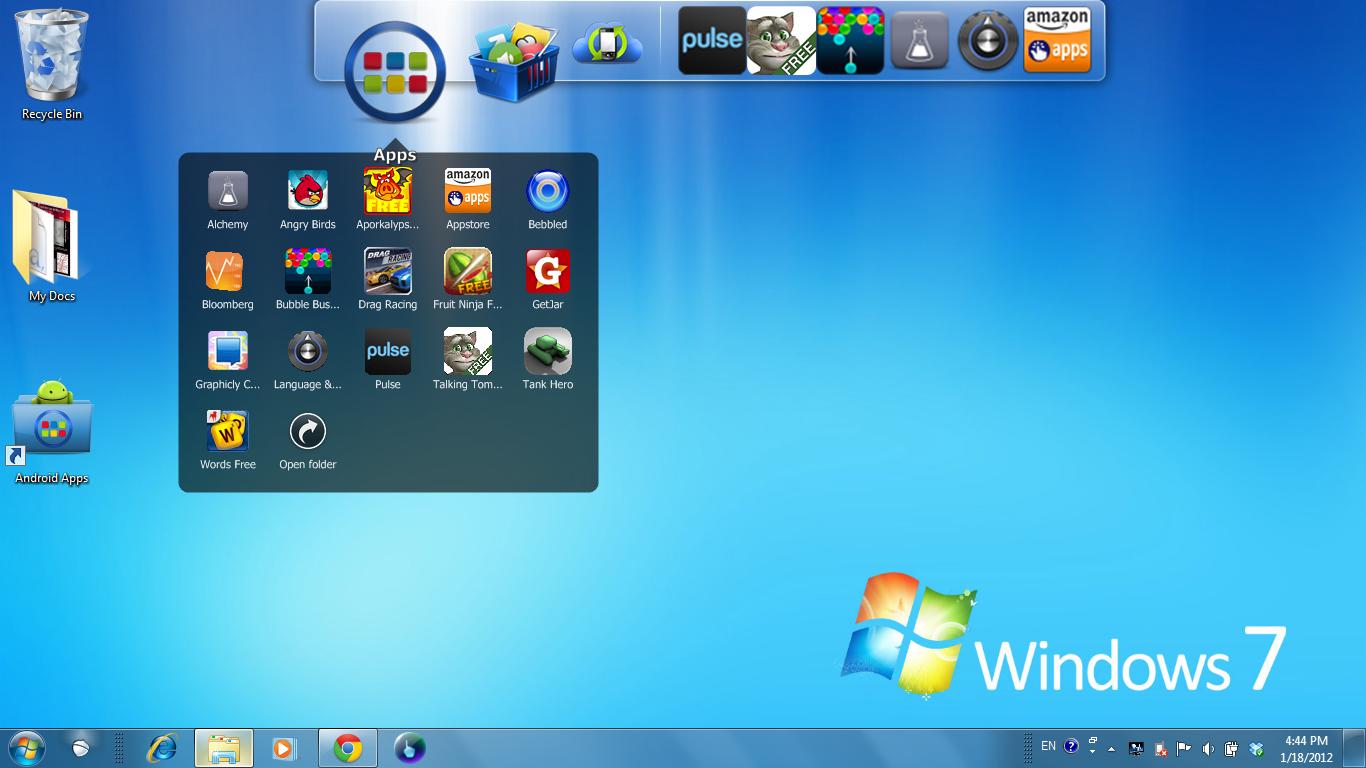 BlueStacks Android emulator, App