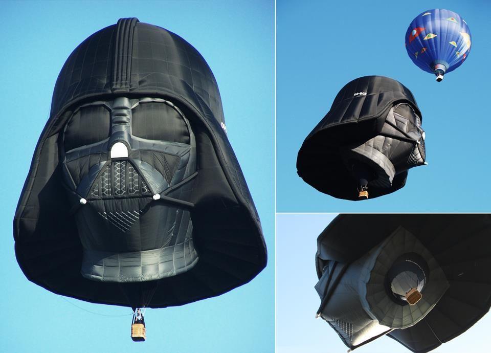 Um balão de respeito!