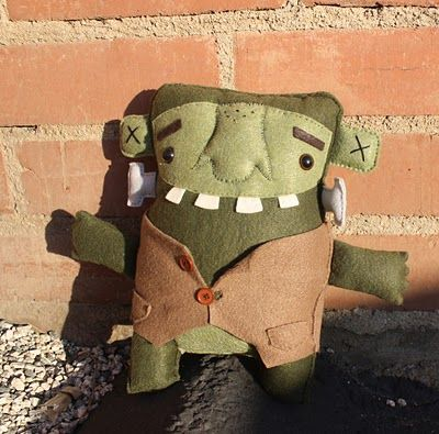 Plush Frankenstein by Trish Tatman