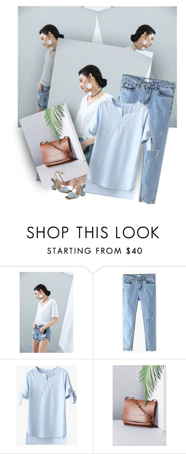 """"""""""" by ilona-828 ❤ liked on Polyvore featuring Tory Burch and StreetStyle"""