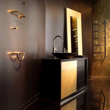 Gallery Gold or Silver Vanity #designtips #home #spa #decor #tips ...