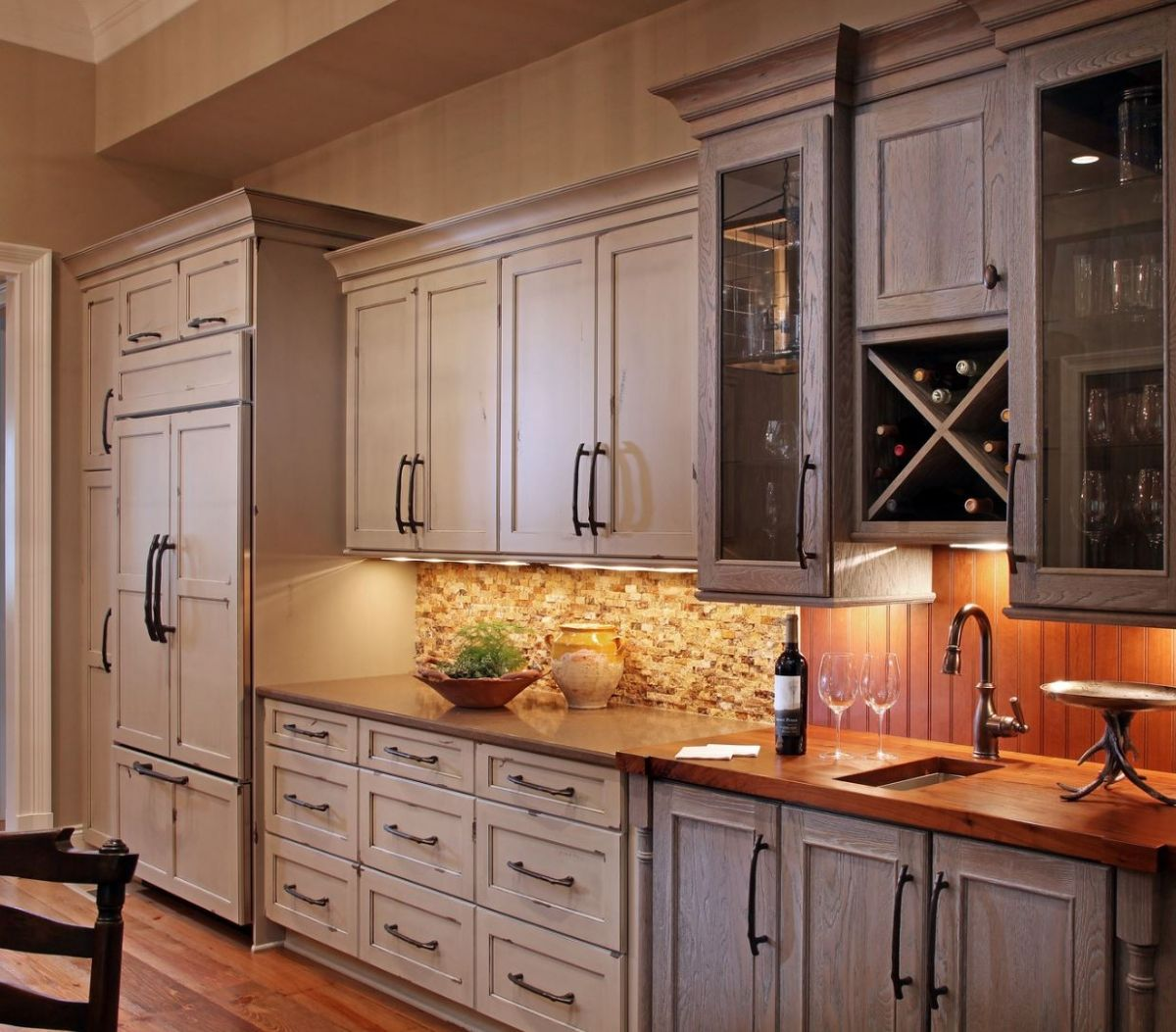 Warm and welcoming kitchen kitchen ideas rustic - Kitchen and bath by design lagrange ga ...