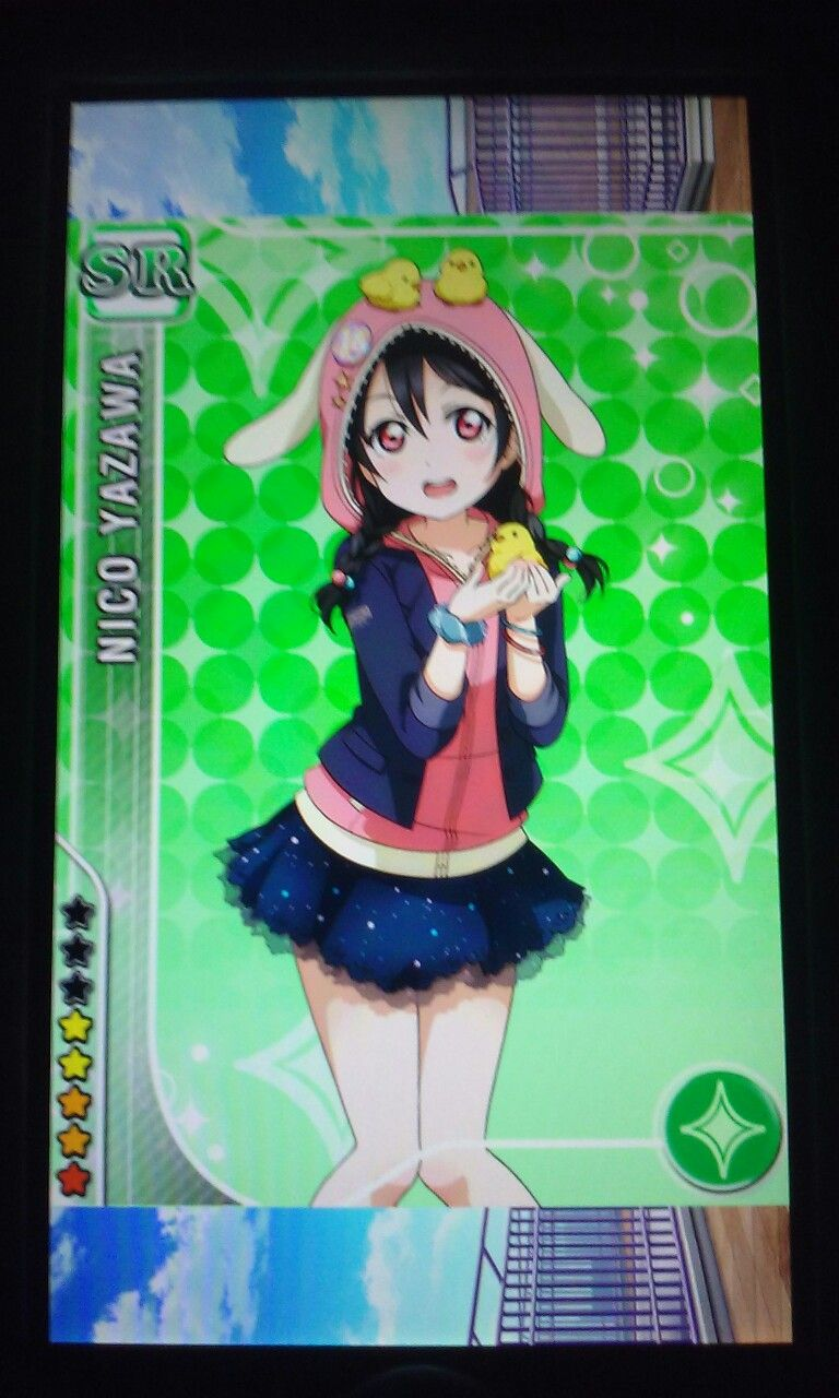 I LOVE THIS NICO AND I GOT HER FROM THE UR MAKI AND HONOKA ANIMAL SCOUTING AND IM SO HAPPY
