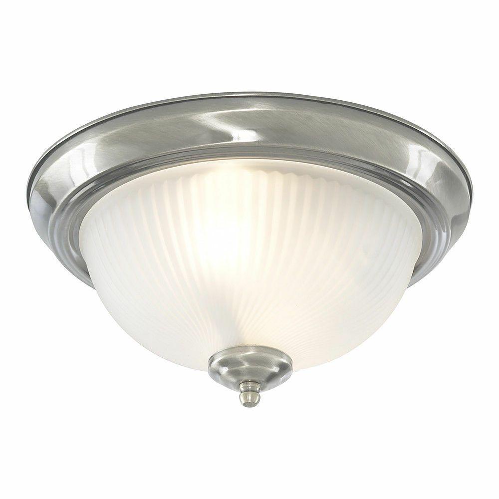 Searchlight Traditional Bathroom Chrome Glass Flush Ceiling Mount Fitting Light From Ironmongery Hardware Bathroom Ceiling Light Ceiling Lights Flush Lighting