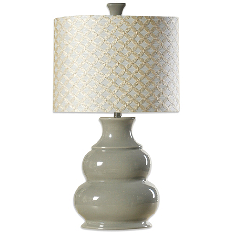 Coventry Juliette Table Lamp In Cool Grey Table Lamp Lamp Grey Table Lamps