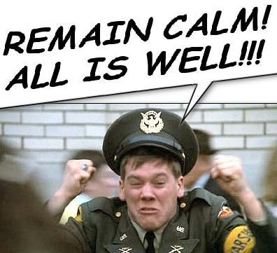 Weekend Edition Remain Calm All Is Well Animal House Quotes