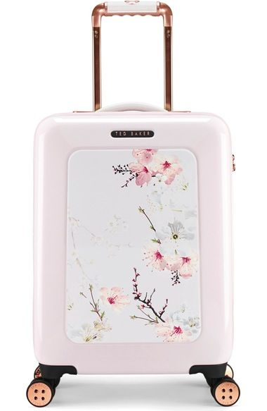 69320d90f9c41 Ted Baker London Small Gem Gardens Four-Wheel Suitcase (21 Inch) available  at  Nordstrom