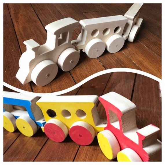 Y Toy Tren Wooden De TrainTrain Pull MaderaEtsy v0m8Nwn