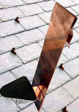 Mullane 200s Rh Retrofit Snow Guards Roof Installation Bronze Copper Rivets