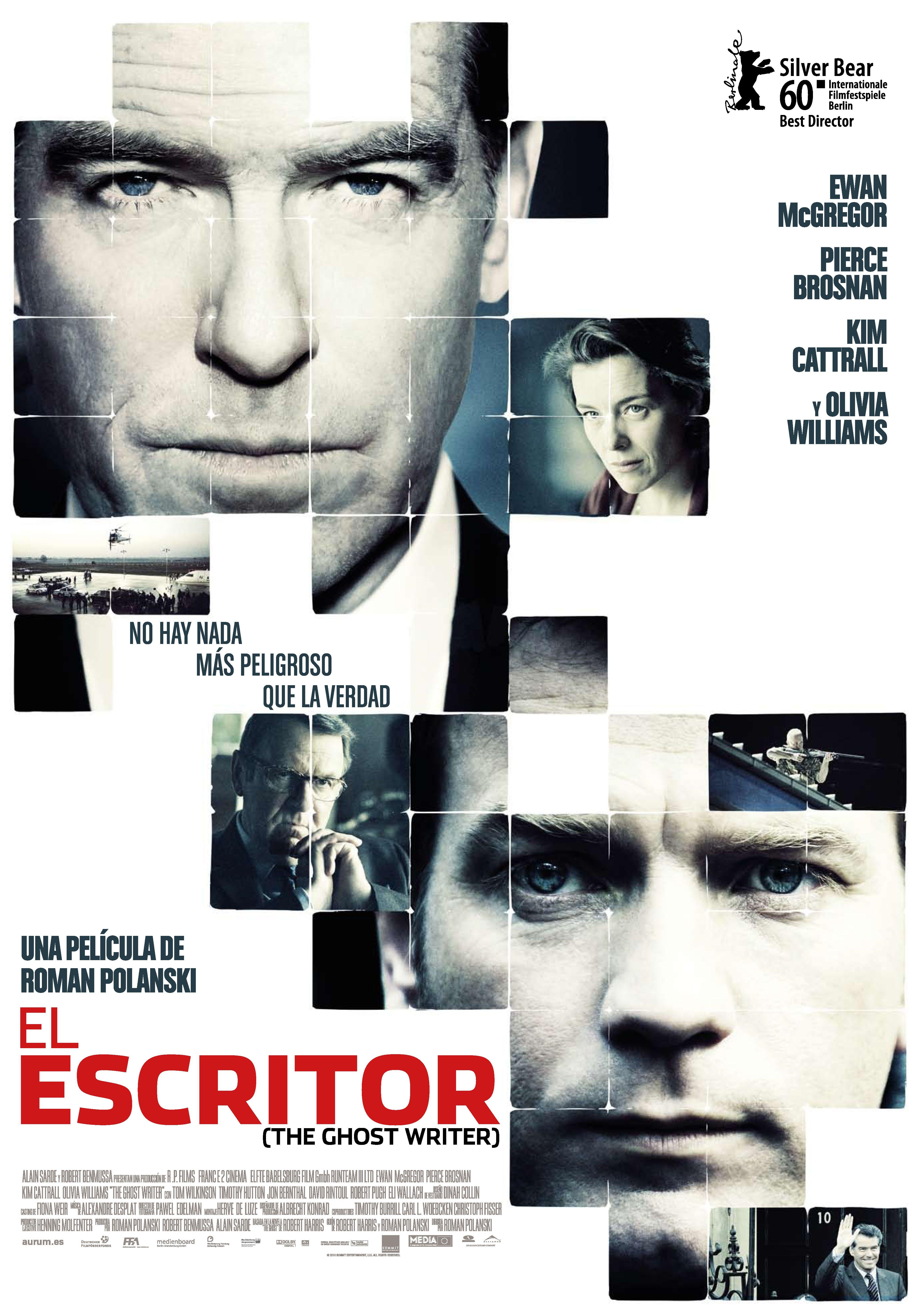 El escritor (The Ghost Writer) - CRITICA de Cine | Pinterest | Movie ...