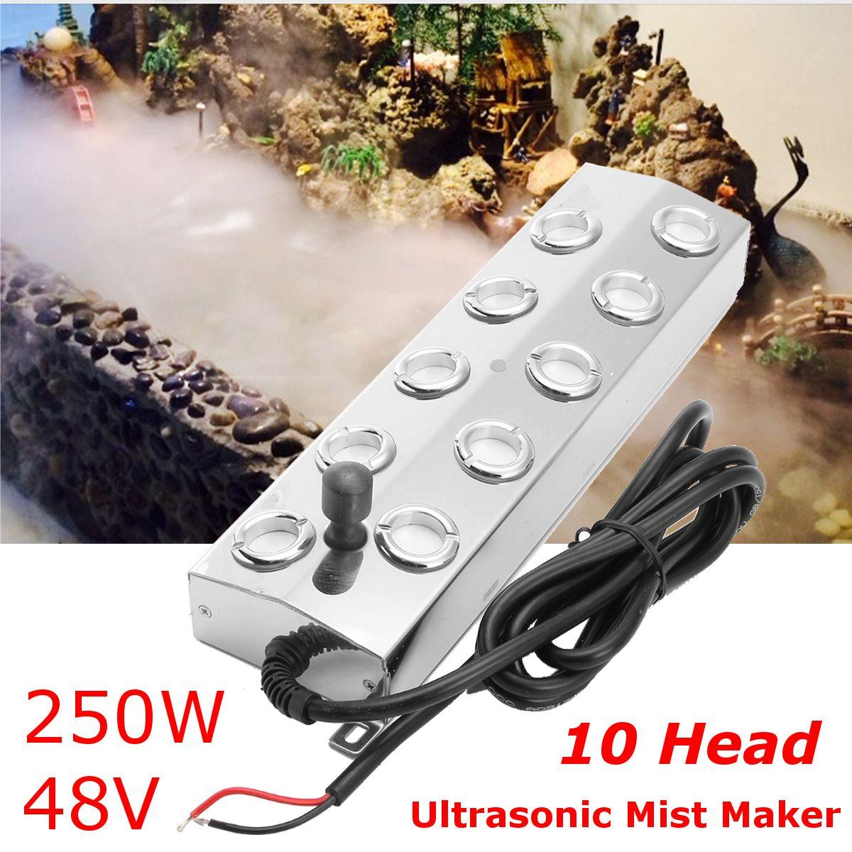 STON 10 Head Ultrasonic Mist Maker Fogger Water Atomizer Industry Air Humidifier