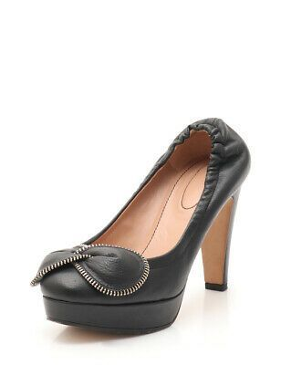 (Advertisement)eBay- See by Chloe pumps leather black zip ribbon #seebychloe (Advertisement)eBay- See by Chloe pumps leather black zip ribbon #seebychloe