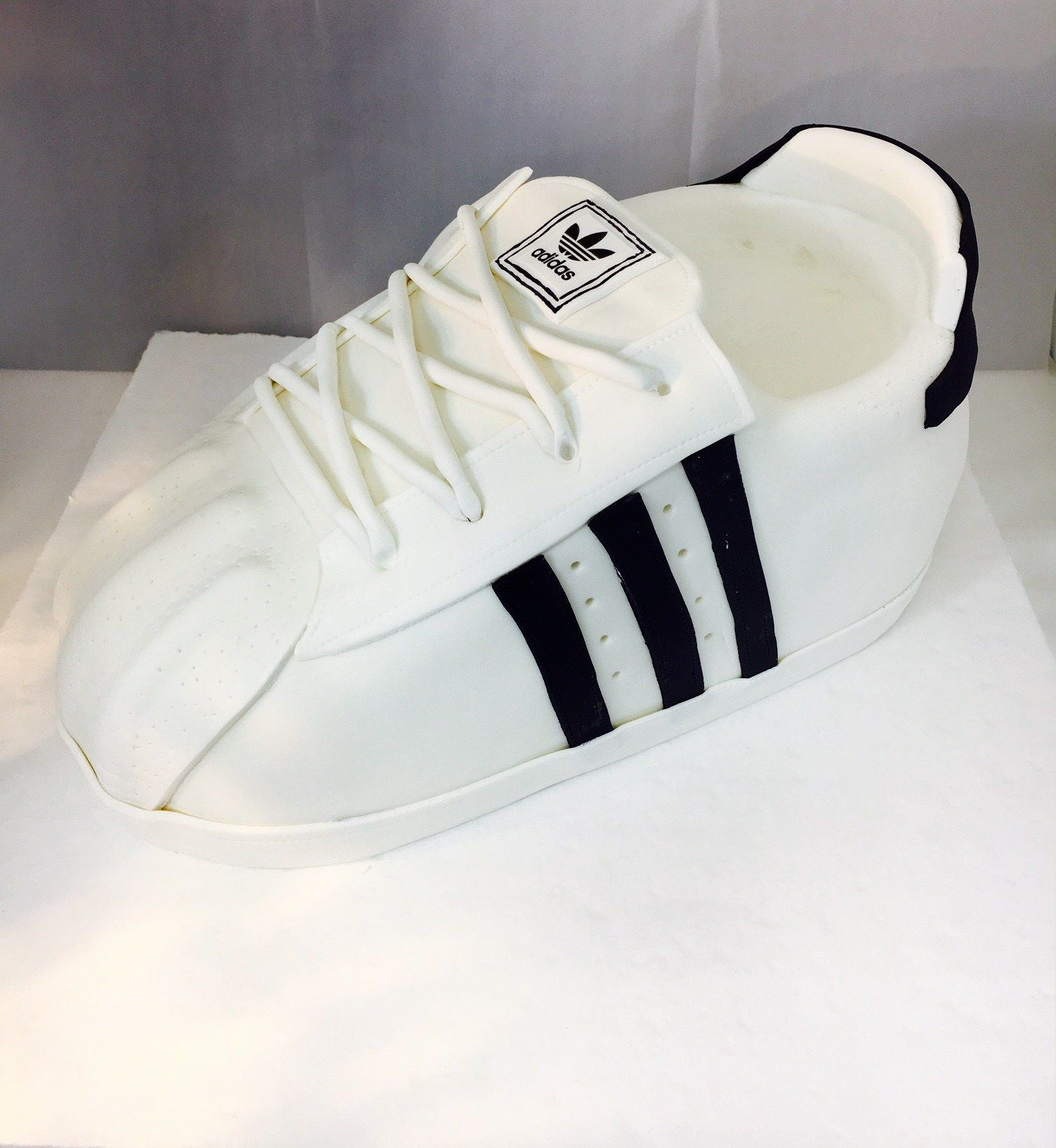 3D Adidas Tennis Shoe Cake MB-116 3D Adidas Tennis Shoe Cake MB-116 – Confection Perfection Cakes Online Ordering