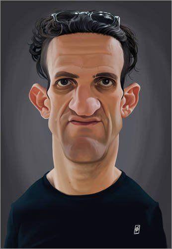 946002517f Acrylic print 80 x 110 cm  Casey Neistat by Rob Snow