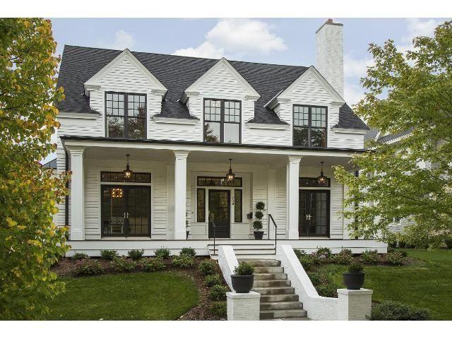 735 Osceola Avenue St Paul Mn Mls 4658754 House Exterior Modern Farmhouse Exterior Cape Cod House Exterior