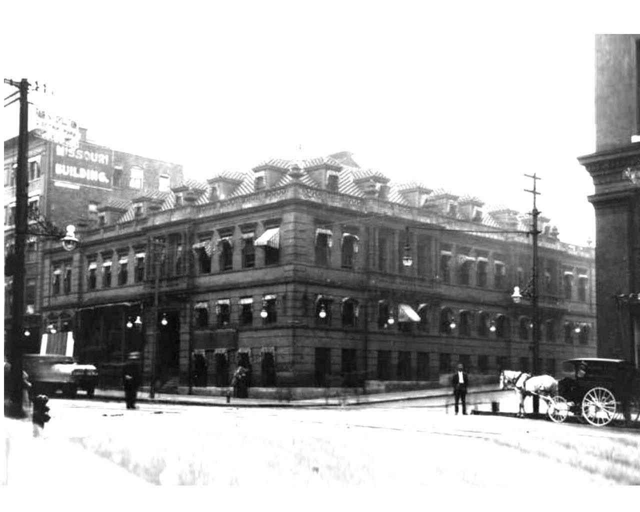 1905 The Kansas City Star Building At 11th Grand Kansas City Downtown Kansas City Missouri Kansas City