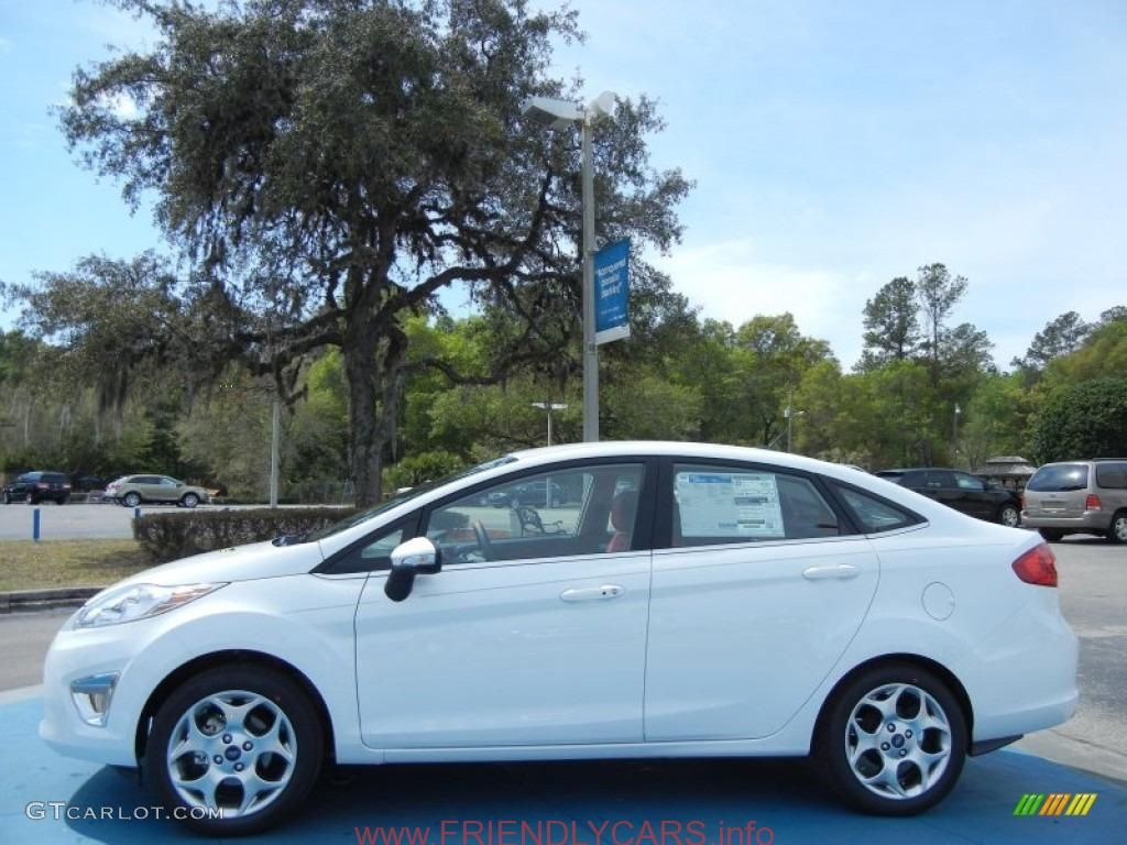 Cool ford fiesta 2013 white car images hd oxford white 2013 ford fiesta titanium sedan exterior