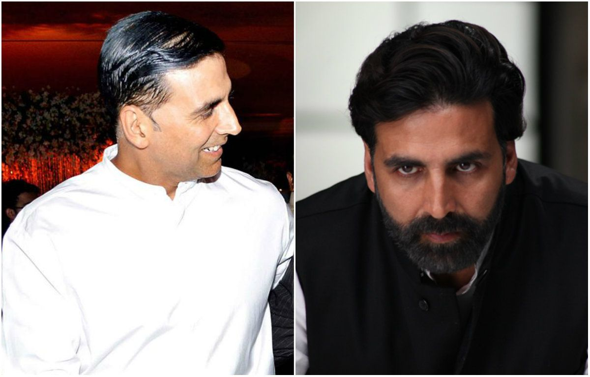 Image result for akshay hair transplant before and after