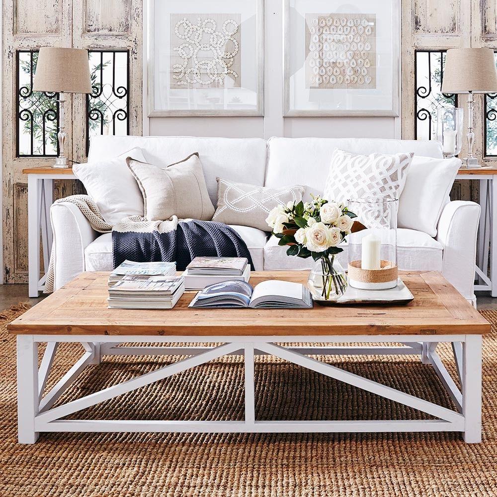 white coastal furniture. Louis XV New England Coffee Table - Beechwood \u0026 White Coastal Furniture