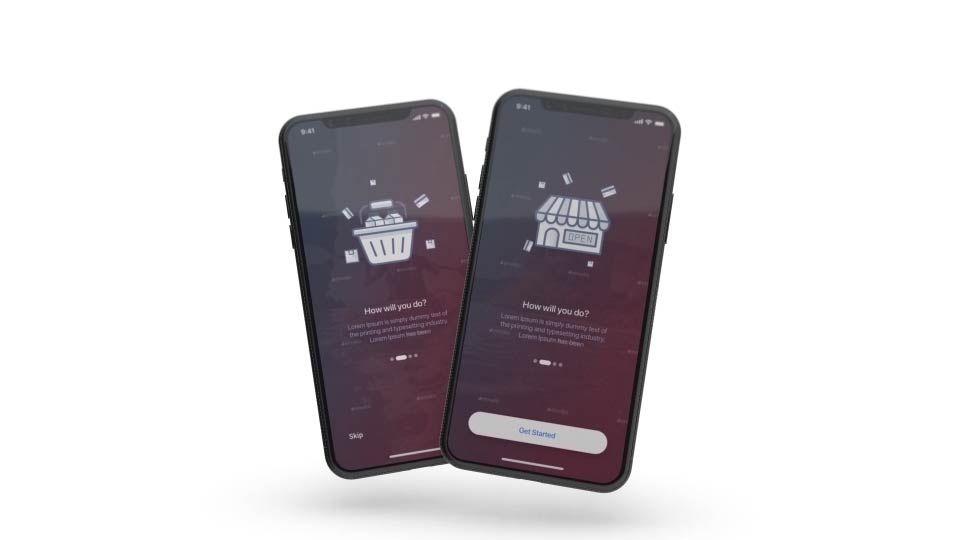 Phone X - App Promo