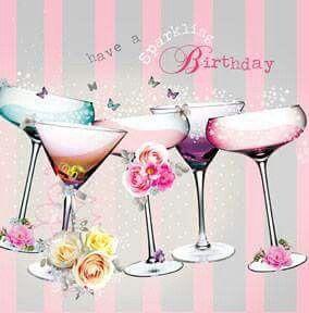 Happy Birthday Happy Birthday Greetings Happy Birthday Birthday Cocktails