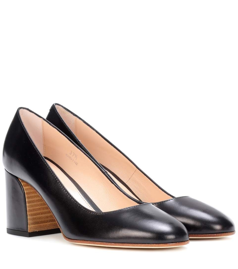 sale view Tod's Leather Scallop Pumps sale prices pay with paypal iQYK4OE