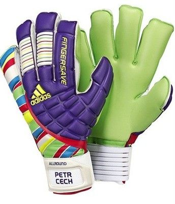 Adidas Fingersave Allround Petr Cech Size 10.5 Goalkeeper Goalie Gloves RARE