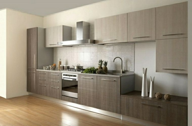 Come arredare la cucina in stile minila con mobili in ...