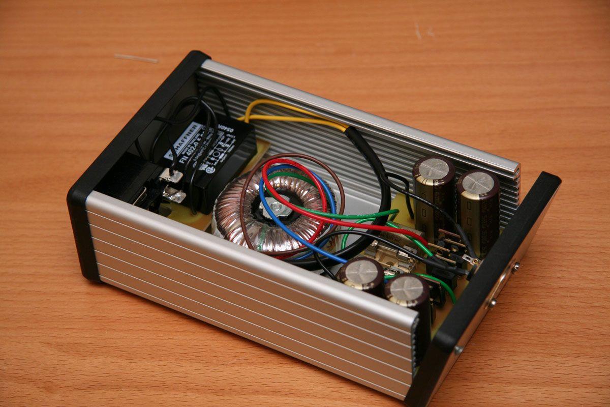 12V Power Supply 30A Componentes eletronicos, Circuito