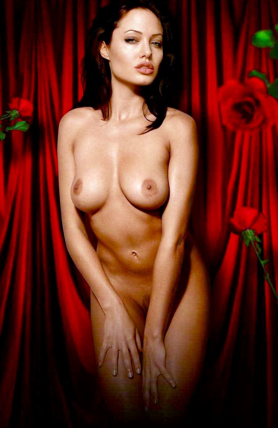Angelina jolie naked pic with girls photo 55