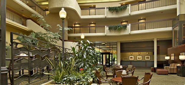Red Lion Hotel At The Park Spokane Washington Downtown Hotels Hotel Red Lion Hotel