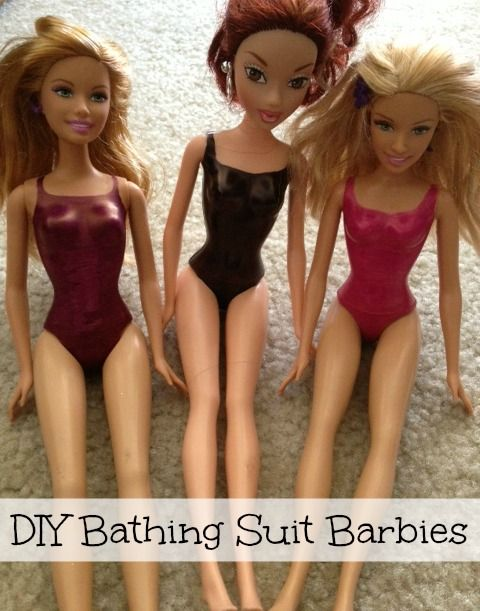 68caf33fa5c DIY Bathing Suit Barbies | Naked No More! | Oh Baby!!! | Bathing ...