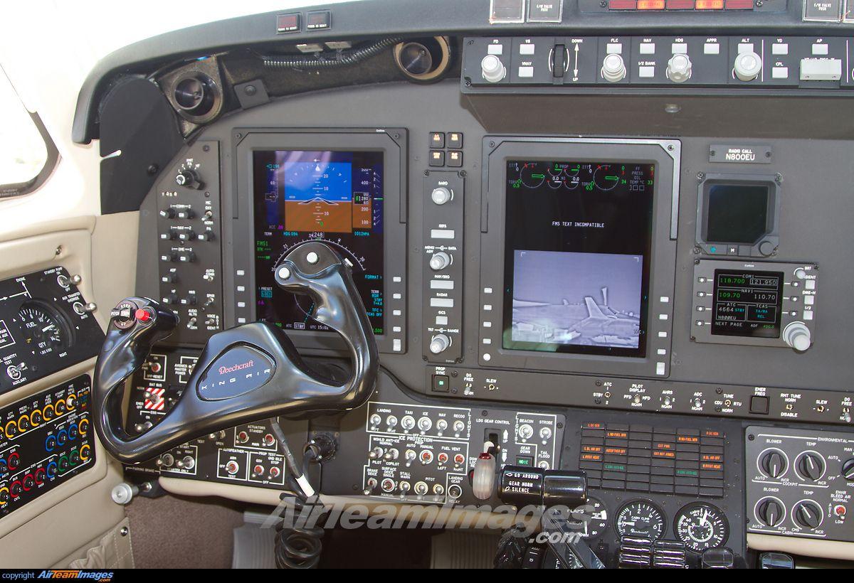 Beechcraft King Air 350i Cockpit, Air, Flight deck
