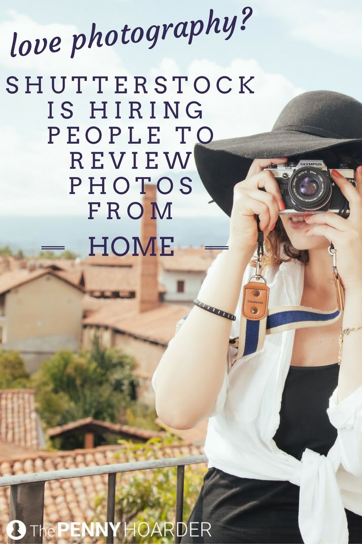 Do you enjoy scrolling through pictures online? Shutterstock is hiring part-time, work-from-home employees to review its photos! @thepennyhoarder