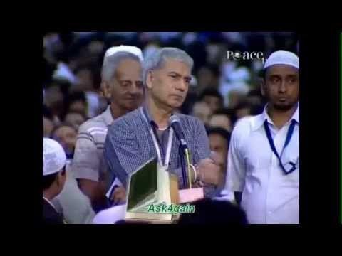 نصراني يسأل ويدخل الاسلام - الدكتور ذاكر نايك 2013 | الاسلام في دبي Islam In Dubai - YouTube