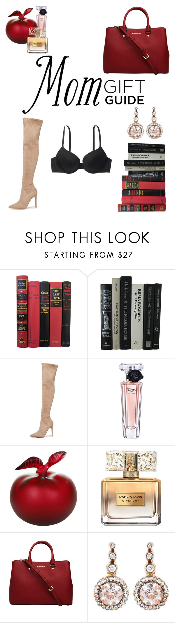"""""""My Giftlist for my Mom"""" by ellmoonlightqueen ❤ liked on Polyvore featuring Kendall + Kylie, Lancôme, Lalique, Givenchy and Selim Mouzannar"""