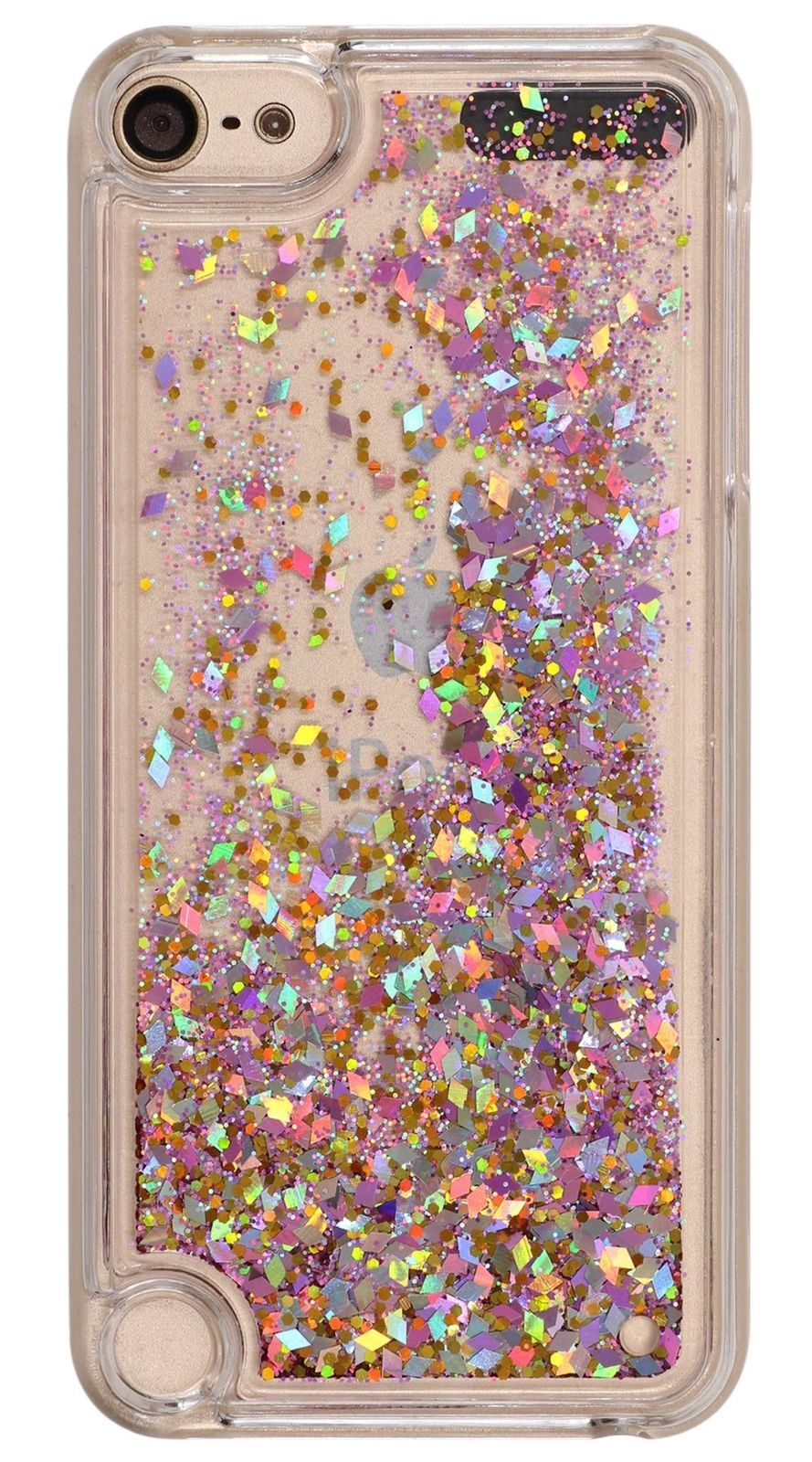 online store 3f3b5 0bc1d iPod Touch 6 Case Liquid Quicksand Glitter Rose Gold Style , Touch5 ...
