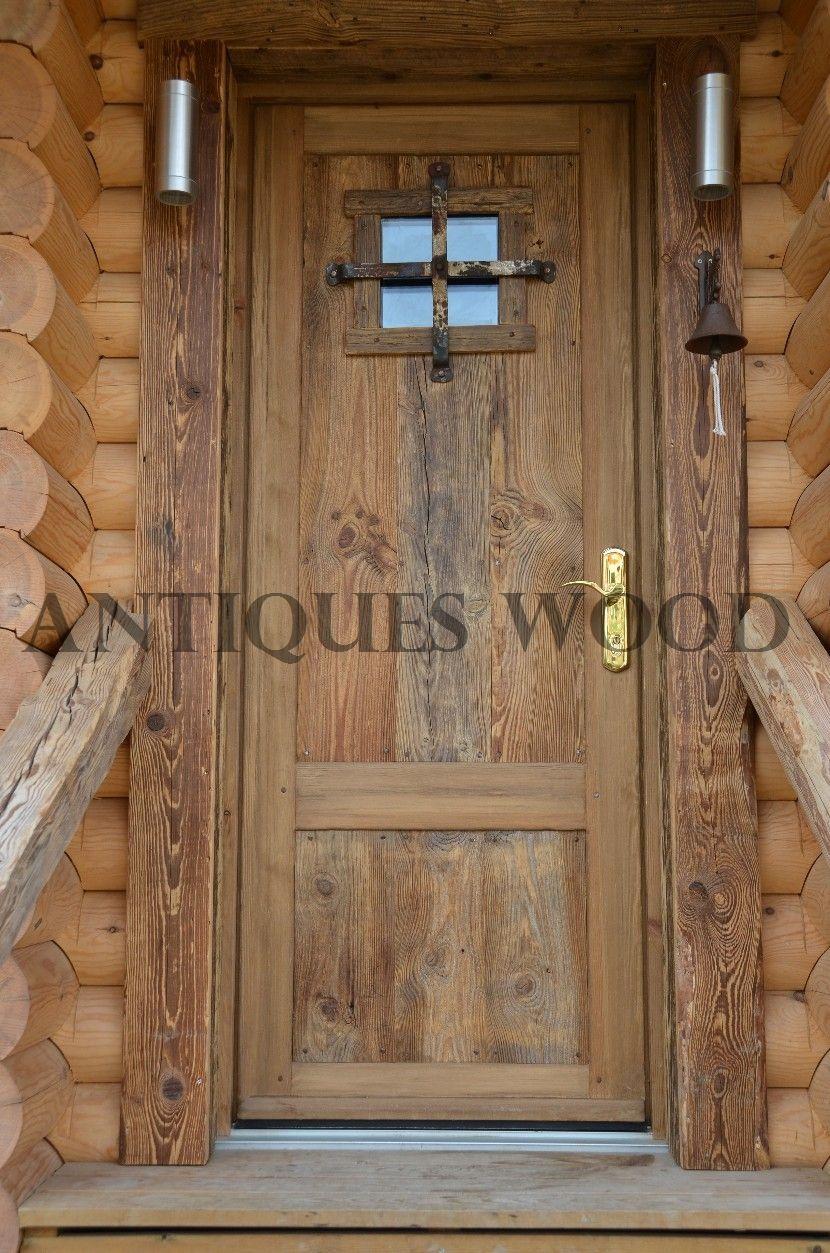 portes en vieux bois - Porte De Chalet En Bois